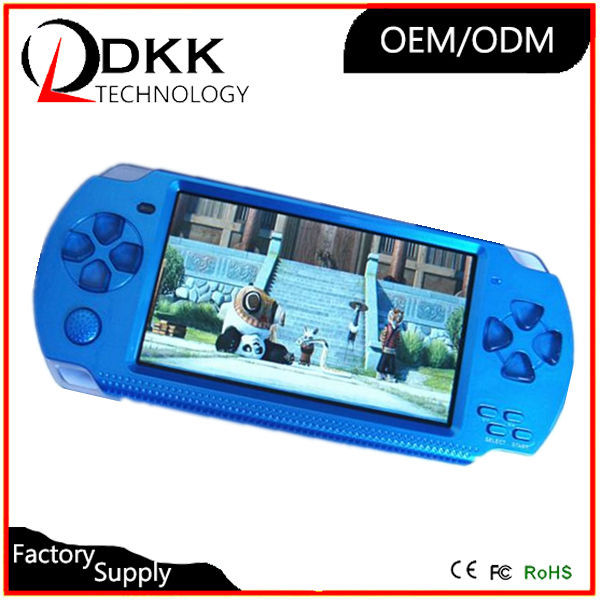 Hot Selling 4.3 inch 8GB support TF card Video Music Picture not for psp console games portable multimedia player