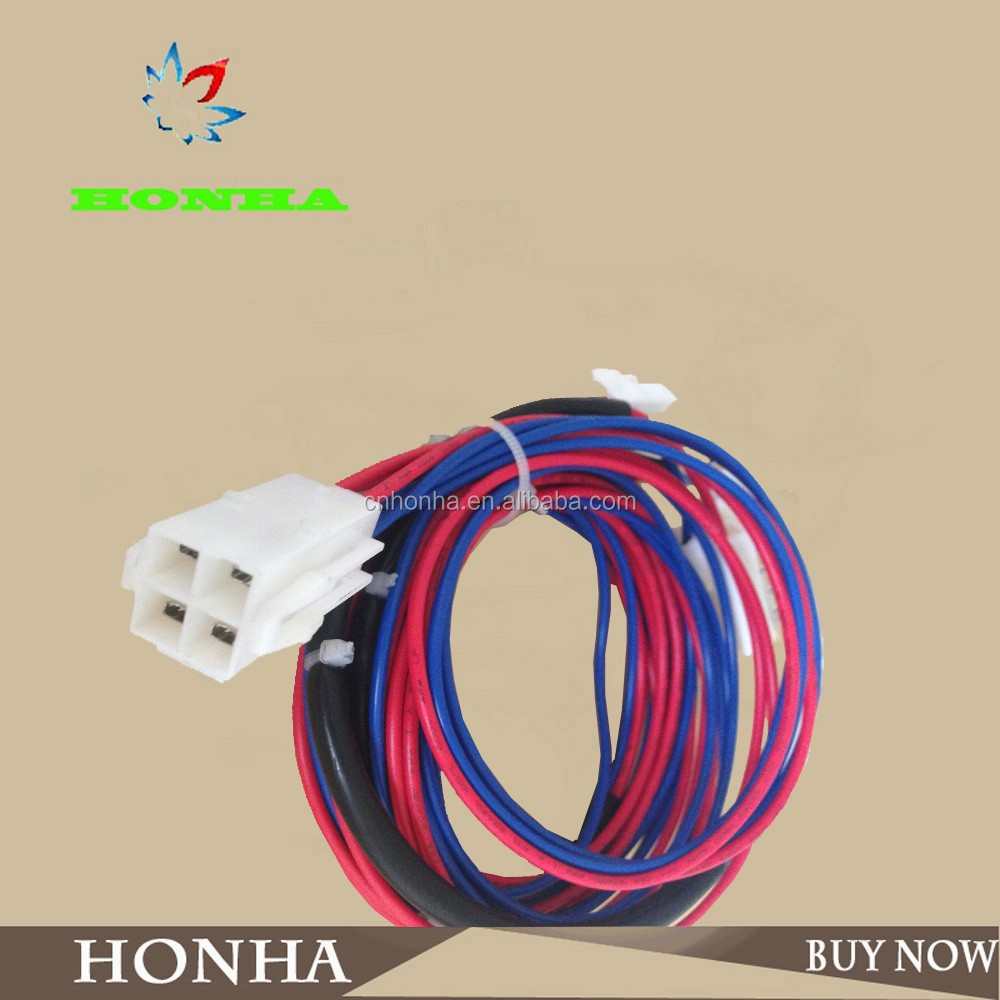 High quality 1-4 pins molex connector UL wire car audio wire harness