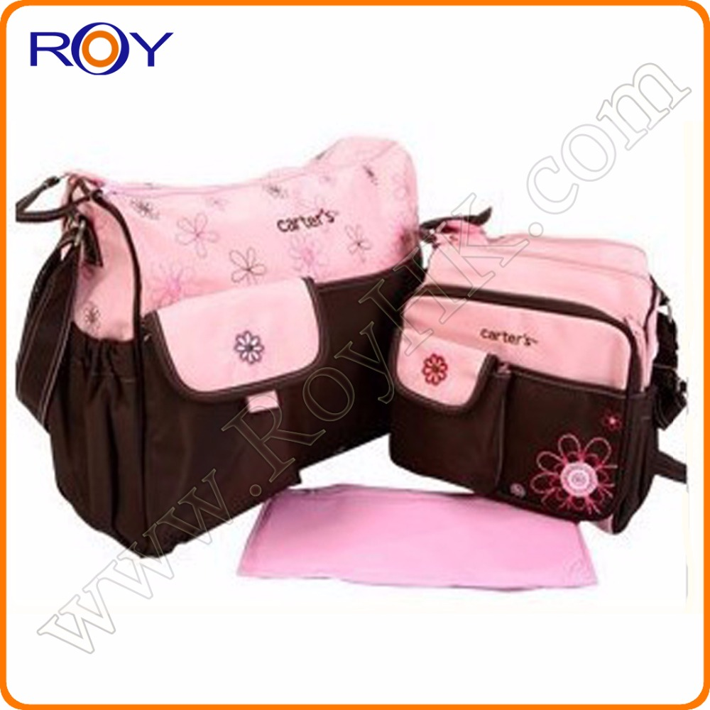Brand diaper bag for mummy bag and baby diaper bags wholesale