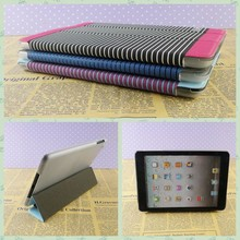 Magnetic smart tablet case cover + ultra slim back case stand for apple ipad 2 3 4 PU material for ipad case 2 leather wholesale