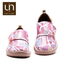 UIN Dessert Russian market in Guangzhou factory production lines girls' fashion high end shoes
