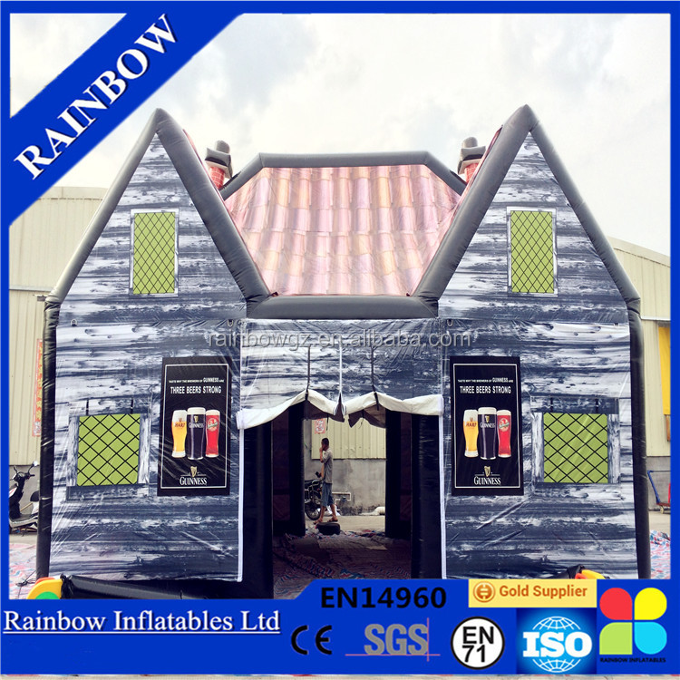 IAAPA Hot Sale Customized PVC Inflatable Pub Inflatable Tent