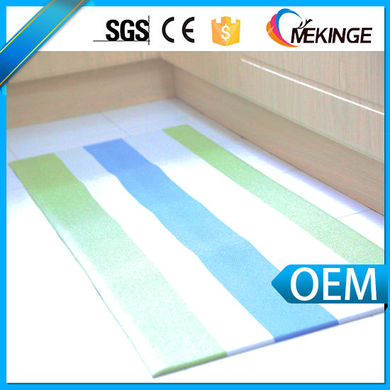 Plastic anti-slip decorative kitchen heat-resistant mat