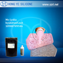 Two parts rtv silicone for decorative concrete moulds on sale