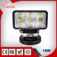 18w Rectangle Epistar LED Work Light for SUV and Jeep and 4x4 automobile