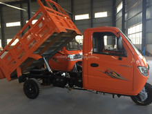 2016 China Supplier Closed Container 3 Wheel Car 250cc automatic tricycle dumper 3 wheel tricycle for adults