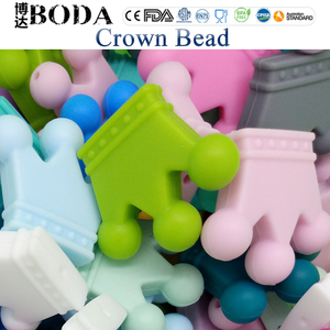 China Manufacturer Food Grade Silicone Beads Necklace Wholesale Silicone Teething Beads