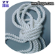 kuralon rope ,6mm 3 strands of white twisted rope