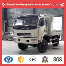 China Famous Dongfeng 4x4 Diesel Mini Dump Truck/Small Dump Truck Price/ 5 Ton Four Wheel Drive Truck