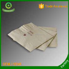Customized serviettes tissue napkin paper with company logo and free professional design