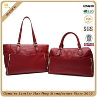 CSYH255-001 luxury Ladies Leather Shoulder Bag korean tote bag branded hand bags for women