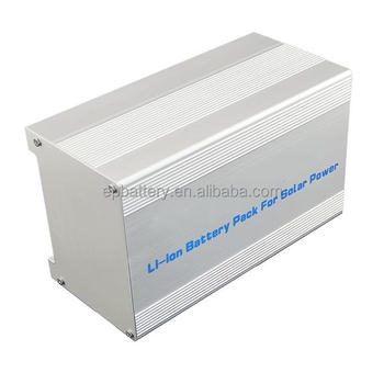 Rechargeable 144V 1100AH Lifepo4 Battery Pack For Solar Lights