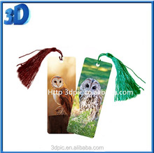 Book store wholesale 3D plastic bookmark for Sale for gift