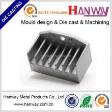 china manufacturer customized sandblasting auto motorcycle parts radiator heatsink aluminum die casting