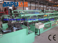 Hot dipped galvanized chain link fence machine