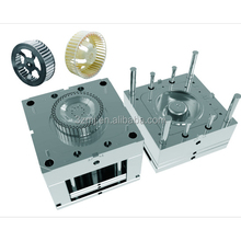 Plastic fan blade blower wheels /fan impeller injection mould /molding