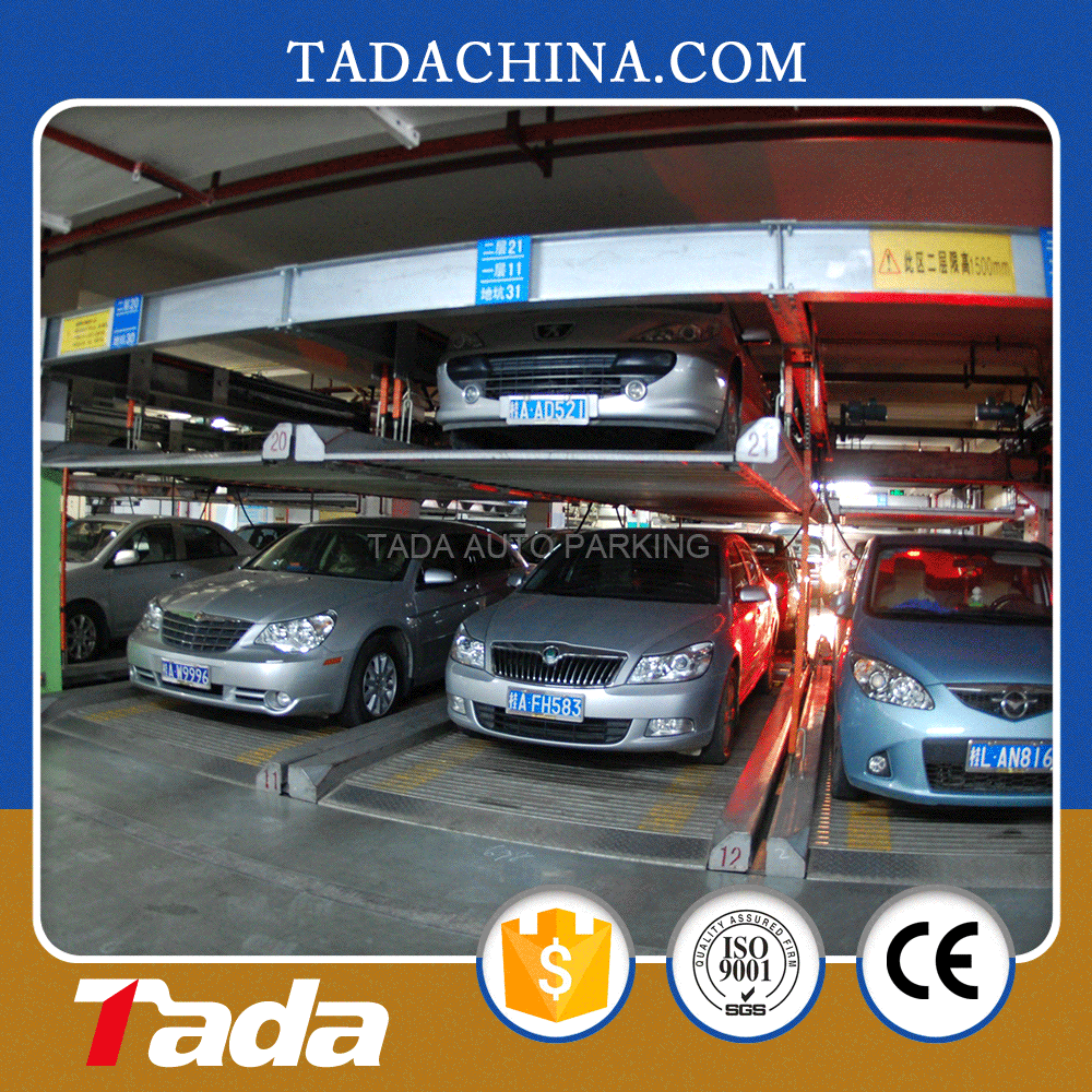 psh double layer mechanical intelligent independent parking system