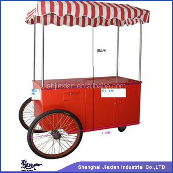 2015 Shanghai JX-IC140.practical mobile ice cream van for sale