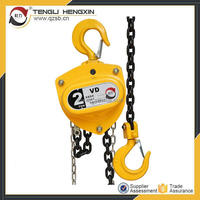 Specification of chain pulley block chain hoist