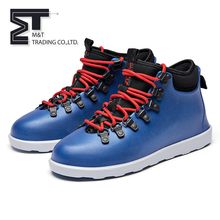 China manufacture waterproof mans shoes hights quality,name brand shoes cheap,high neck casual shoes