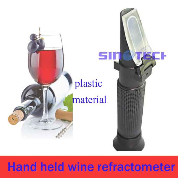 wine refractometer 0-80% W/W alcohol tester P-RHW-80ATC