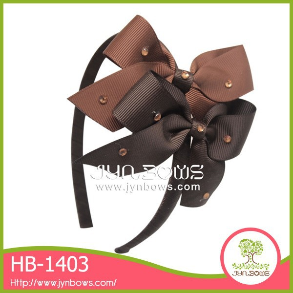 Korea style handmade grosgrain ribbon hair accessories baby hair band