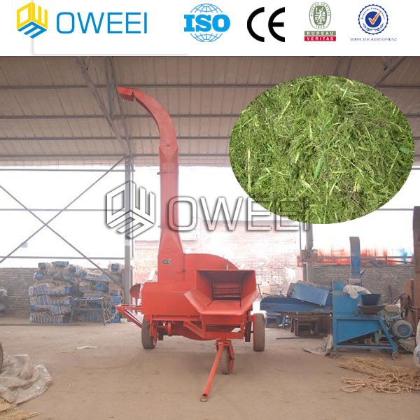Animal feed chaff cutter forage cutter