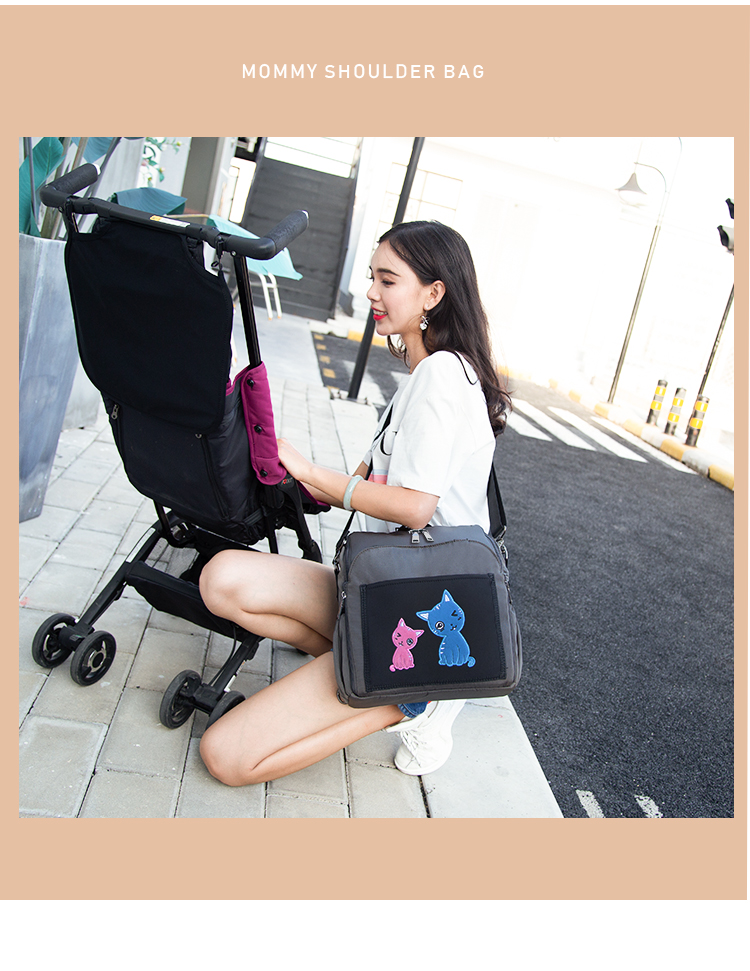 2018 Top quality soft baby safety seat booster comfortable baby booster Boostersitz with mommy bag