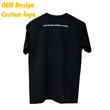 OEM High quality dry-fit Print USA size Label design Black Round Collar Election Tee shirt for girl