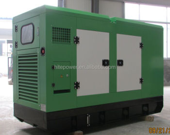 High performance silent generator 250 V