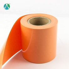 Hard Orange 0.25mm Colored PVC Plastic Roll for <strong>Advertising</strong>