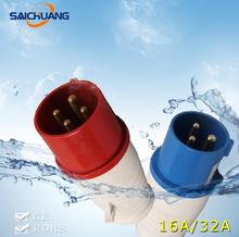IP67 waterproof explosion-proof socket outlet mobile industrial plug with ce certification 16a 32a 63a 125a 250a 420a