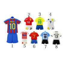Soft pvc football usb flash drive basketball T-shirt USB Stick