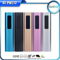 2000mAh portable USB external rechargeable backup battery power bank manual for power bank battery charger
