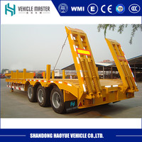 3 Axle Used Low Bed Truck