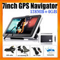 "7"" car gps multimedia navigator with mp3 mp4 ebook reader free gps map"