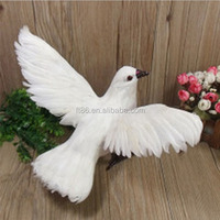 Modern unique design decorative artificial birds flapping their wings
