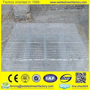 welded wire mesh Mink breeding cage metal quail cage for sale