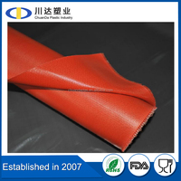 2016 Factory whole silicone rubber coated fiberglass cloth for heat insulation