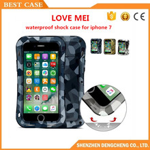 Original LOVE MEI For Iphone 7 Waterproof Shock Case