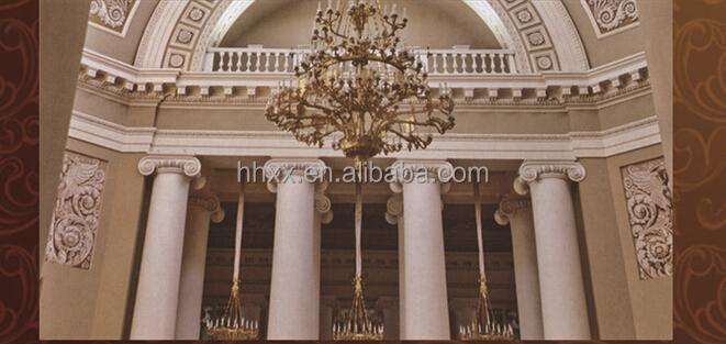 Polyur thane d coration romaine colonne pilier pu for Decoration romaine