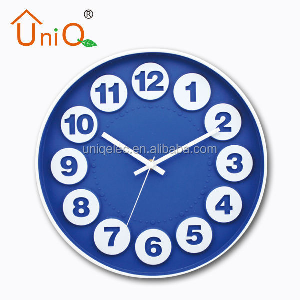 New arrival mirror wall clock on sale