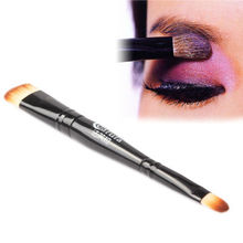 Dual Head Eye Shadow Eyeliner Makeup Brush Cosmetic Applicator Tool Kit