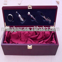 Fine wooden wine box, promotional gift wine box