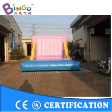 inflatable football throwing games,inflatable shoot game,china manufacturer inflatable games