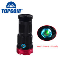 10*T6 Chip High Power LED Torch Light 4*18650 Batteries Rechargeable LED Lantern