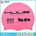 newest 2017 custom print adult silicone swim cap