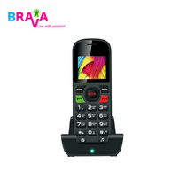 Low Price 1.77 inch senior cell phone with big keypad for feature phone