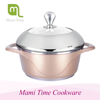 Eco-friendly beautiful design good looking die-cast cookware