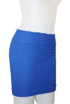 Fashion summer woman dress/blue short dress wholesaler